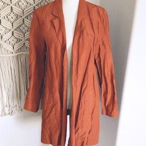 Eileen Fisher Organic Open Front Casual Coat